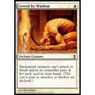 Cowed by Wisdom