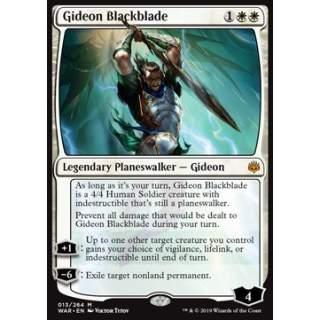 Gideon Blackblade - FOIL