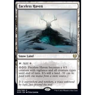 Faceless Haven - FOIL