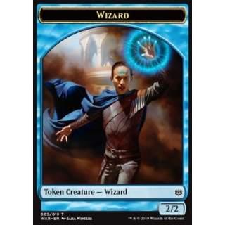 Wizard Token (Blue 2/2)