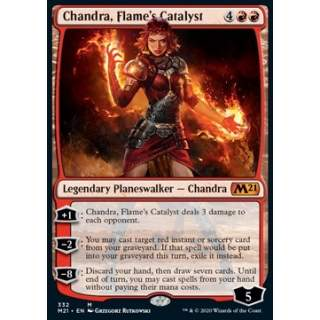 Chandra, Flame's Catalyst - PROMO FOIL