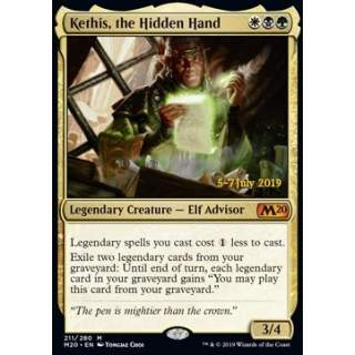 Kethis, the Hidden Hand (Version 2) - PROMO FOIL