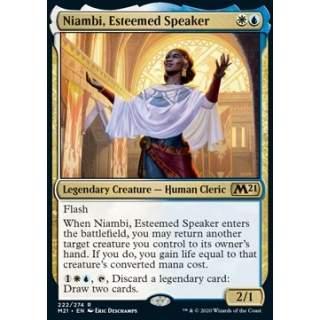 Niambi, Esteemed Speaker - FOIL