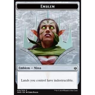 Nissa, Who Shakes the World Emblem