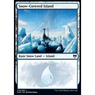 Snow-Covered Island (V.1) - FOIL