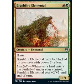 Brushfire Elemental - FOIL