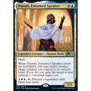 Niambi, Esteemed Speaker (V.2) - PROMO FOIL