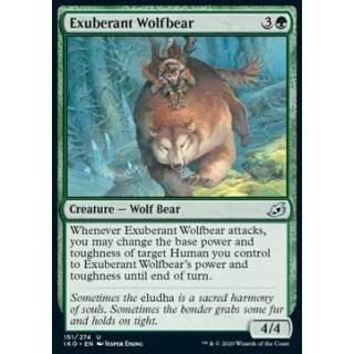 Exuberant Wolfbear - FOIL
