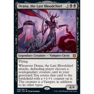 Drana, the Last Bloodchief - FOIL