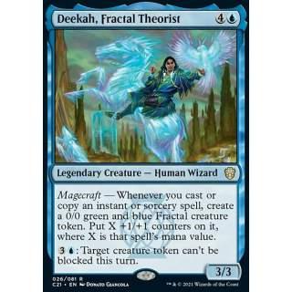 Deekah, Fractal Theorist