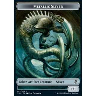 Metallic Sliver Token (Colorless 1/1)