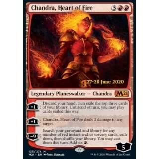 Chandra, Heart of Fire (V.2) - PROMO FOIL