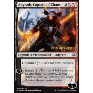 Angrath, Captain of Chaos - PROMO FOIL