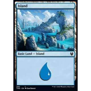 Island (Version 1) - PROMO FOIL