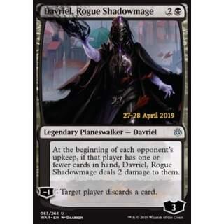 Davriel, Rogue Shadowmage - PROMO FOIL