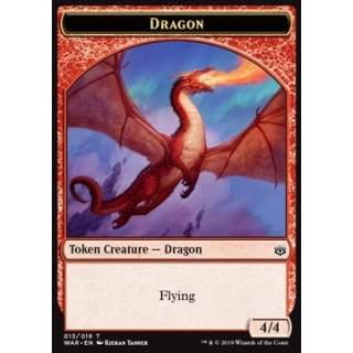 Dragon Token (Red 4/4)