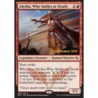 Alesha, Who Smiles at Death - PROMO FOIL