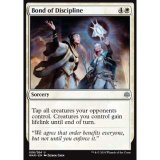 Bond of Discipline - FOIL