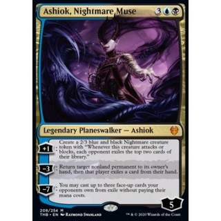 Ashiok, Nightmare Muse - FOIL