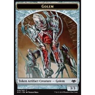 Golem Token (Artifact 3/3) - FOIL