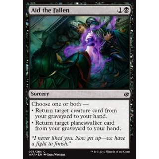 Aid the Fallen - FOIL