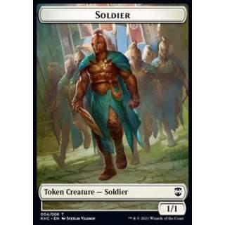Soldier Token (W 1/1) // Bird Token (U 1/1)