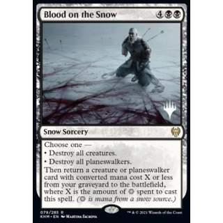 Blood on the Snow (V.2) - PROMO FOIL