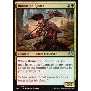 Ruination Rioter - FOIL
