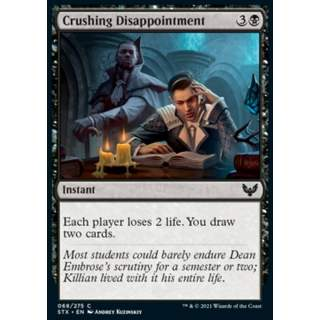 Crushing Disappointment