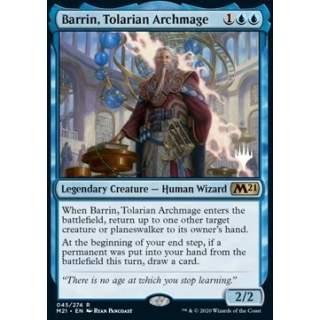Barrin, Tolarian Archmage (V.1) - PROMO FOIL