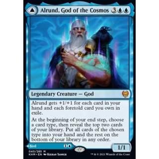 Alrund, God of the Cosmos // Hakka, Whispering Raven - FOIL