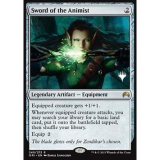 Sword of the Animist - PROMO FOIL