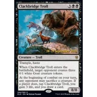 Clackbridge Troll (Version 1) - PROMO FOIL