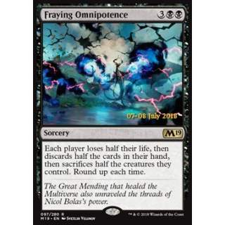 Fraying Omnipotence - PROMO FOIL