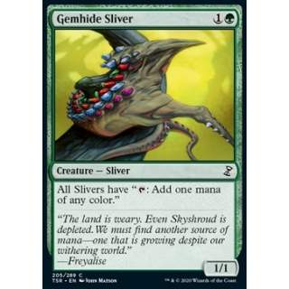 Gemhide Sliver - FOIL