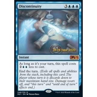 Discontinuity (V.2) - PROMO FOIL