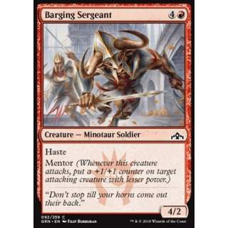 Barging Sergeant