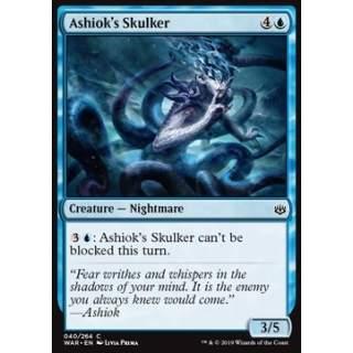 Ashiok's Skulker - FOIL