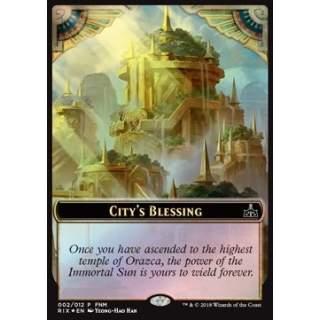 City's Blessing Token / Elemental Token (R 0/1) - FOIL