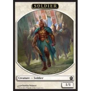 Soldier Token (White 1/1) (V.2)