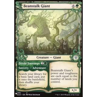 Beanstalk Giant // Fertile Footsteps