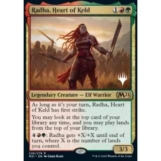 Radha, Heart of Keld (V.1) - PROMO FOIL