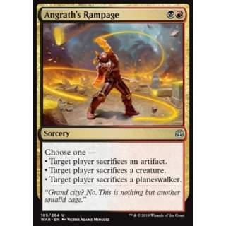 Angrath's Rampage - FOIL