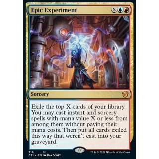Epic Experiment