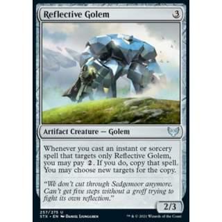 Reflective Golem - FOIL