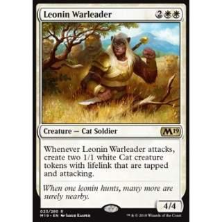 Leonin Warleader - FOIL