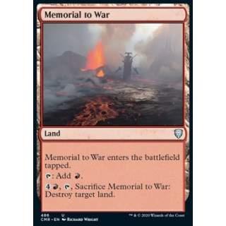 Memorial to War - PROMO