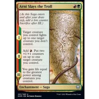 Arni Slays the Troll