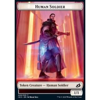 Human Soldier Token (White 1/1) (V.3)