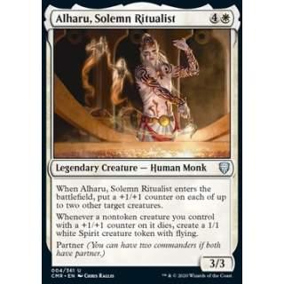 Alharu, Solemn Ritualist